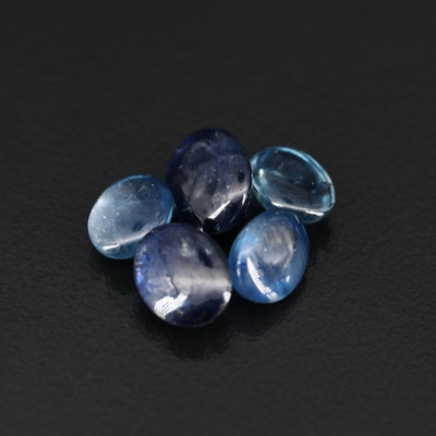 Loose 12.00 CTW Oval Sapphire Cabochons