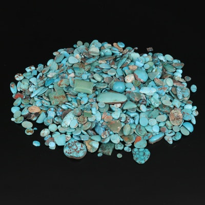 Loose Turquoise Selection Featuring Various Shapes