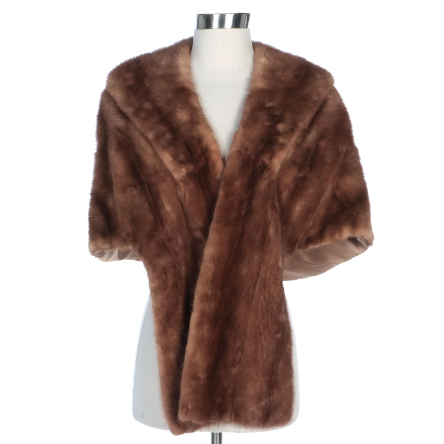 Mink Fur Stole from Famous-Barr Co.