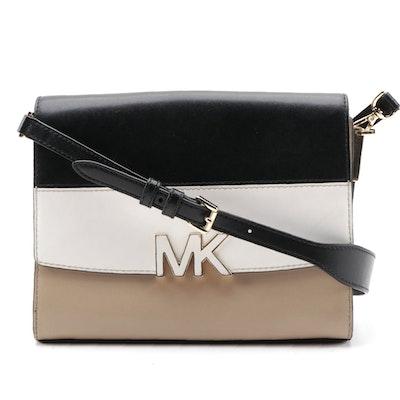 MICHAEL Michael Kors Tri-Color Montgomery Large Messenger Bag