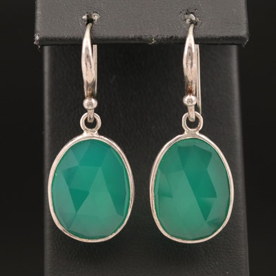Sterling Chalcedony Earrings