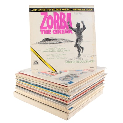 Zorba the Greek, Oklahoma, Star Wars, The Sting, and Other Vinyl Records