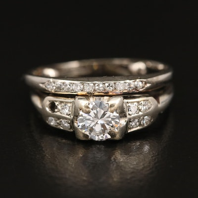 18K and 14K Diamond Ring