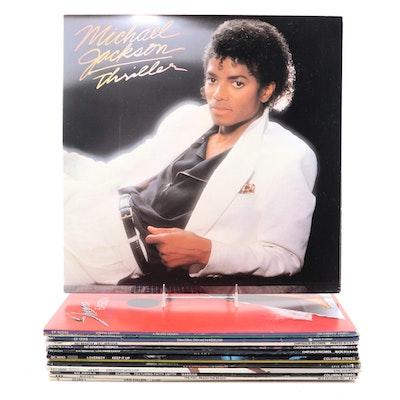 Michael Jackson, Sheena Easton, Van Halen, Frank Zappa, and Other Vinyl Records