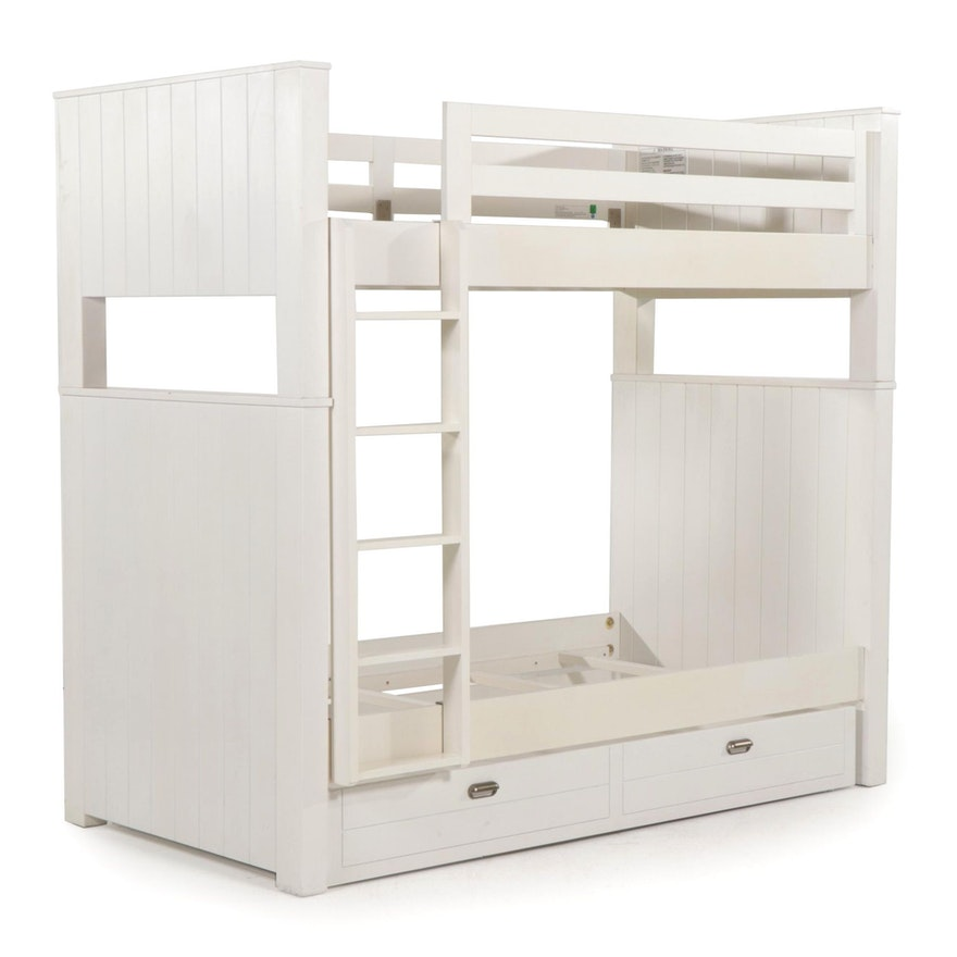 """Restoration Hardware """"Haven"""" Twin-Over-Twin Bunk Bed and Trundle Set"""