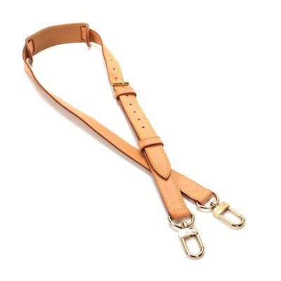 Louis Vuitton Keepall Bandouliere Strap in Vachetta Leather