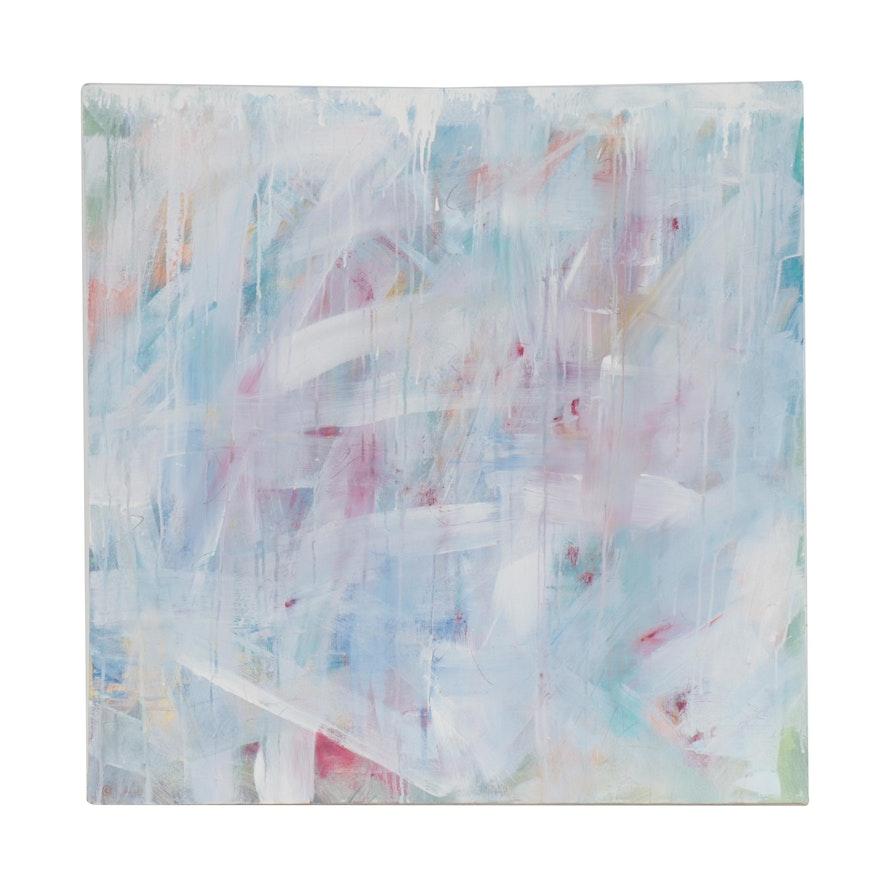 """Thuthuy Tran Acrylic Painting """"Melting,"""" 2014"""