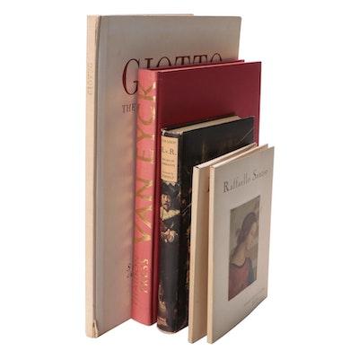 """Jan van Eyck"" by Ludwig Baldass with Other Art Books and Italian Folios"