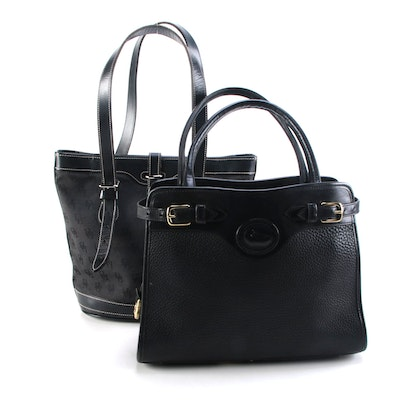Dooney & Bourke Black Shoulder Bags