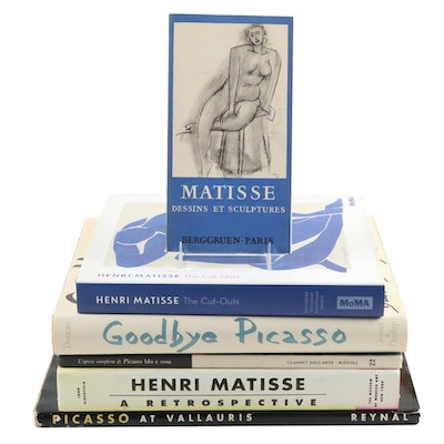 "First Edition ""Goodbye Picasso"" and Other Picasso and Matisse Art Books"