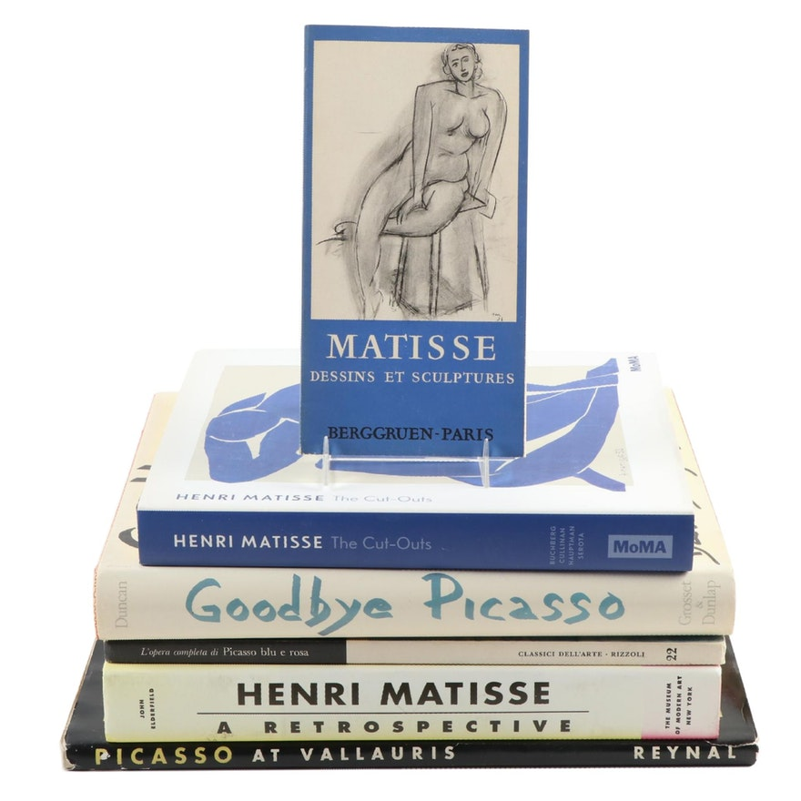 """First Edition """"Goodbye Picasso"""" and Other Picasso and Matisse Art Books"""