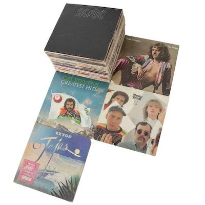 AC/DC, Peter Frampton, Cat Stevens, ZZ Top, Cheap Trick and Other Vinyl Records