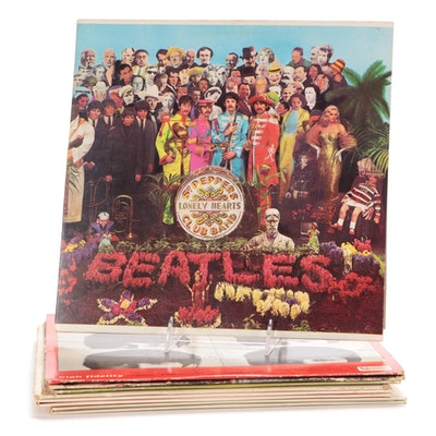 The Beatles, The Monkees, Peter Frampton and Other Vinyl Records