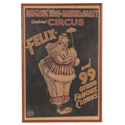 Offset Lithograph after Event Poster for Ringling Bros and Barnum & Bailey