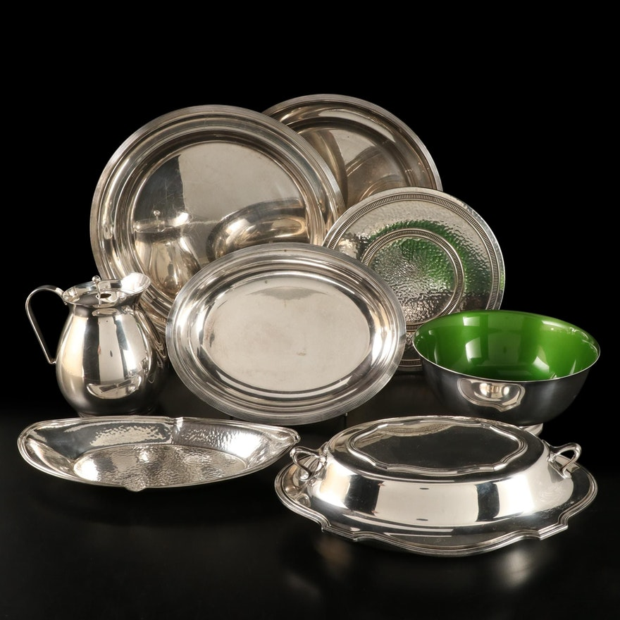 El De Uberti, Reed & Barton, Maple & Co. and Other Silver Plate Tableware