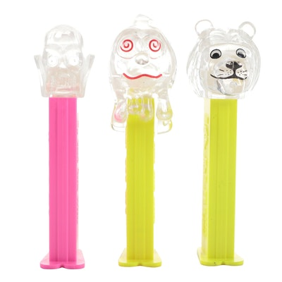"""PEZ """"Crystal Collection"""" Candy Dispensers"""