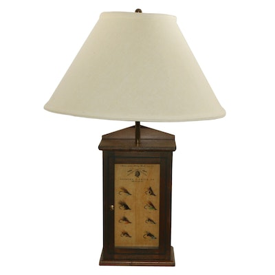 Charles F. Orvis Co. Fishing Lure Display Table Lamp