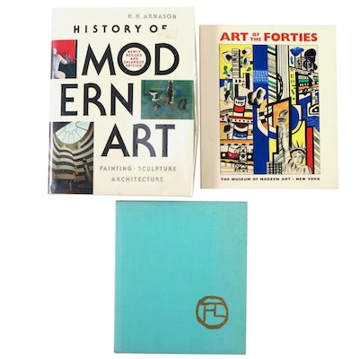 "Art Reference Books Including ""History of Modern Art"" by H. H. Arnason"
