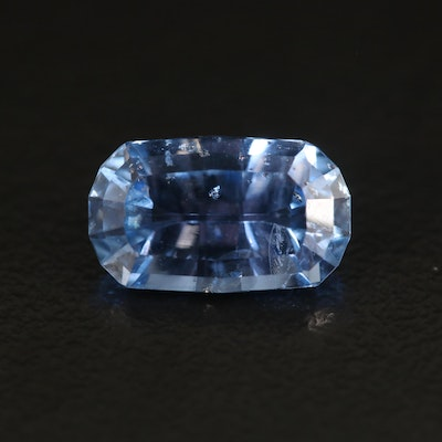 Loose 3.36 CT Oval Faceted Sapphire
