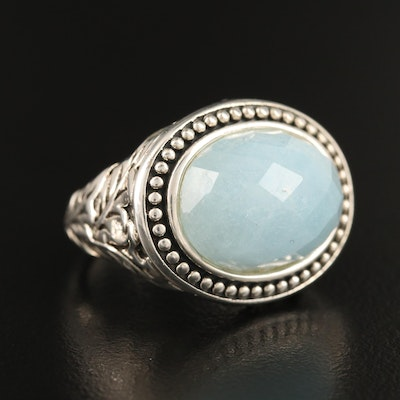 SeidenGang Sterling Beryl Ring