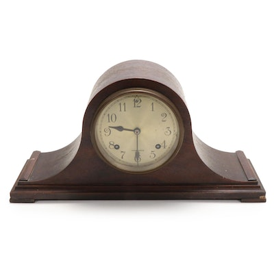 Herschede Mahogany Mantel Clock, Late 19th/Early 20th Century