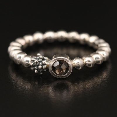 Michael Dawkins Sterling Smoky Quartz Band