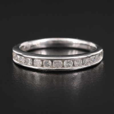 10K Diamond Channel Band