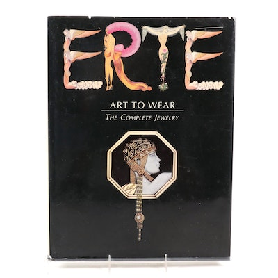 "First Printing ""Erté: Art to Wear, The Complete Jewelry"" by Lee and Zara, 1991"