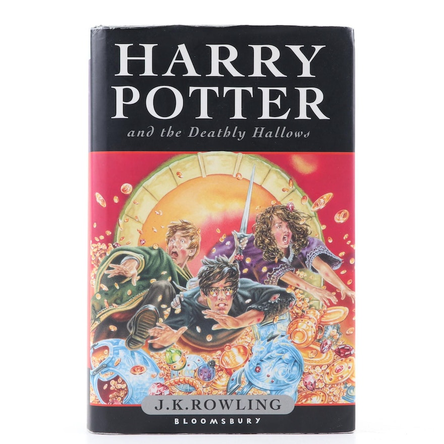"""First UK Edition """"Harry Potter and the Deathly Hallows"""" by J. K. Rowling, 2007"""