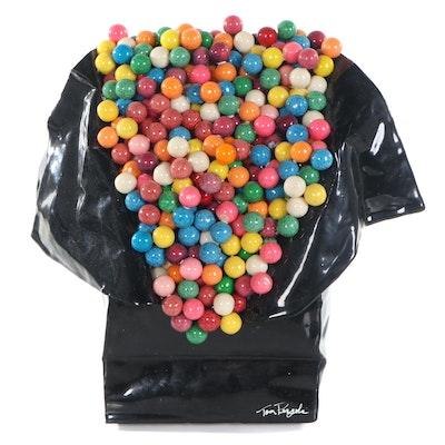 """Tom Pergola Mixed Media Sculpture """"Gumballs,"""" 2000"""