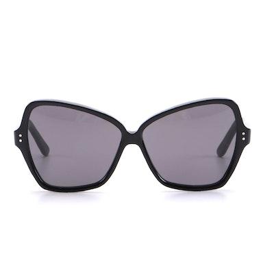 Celine CL400641 Black Acetate Butterfly Sunglasses