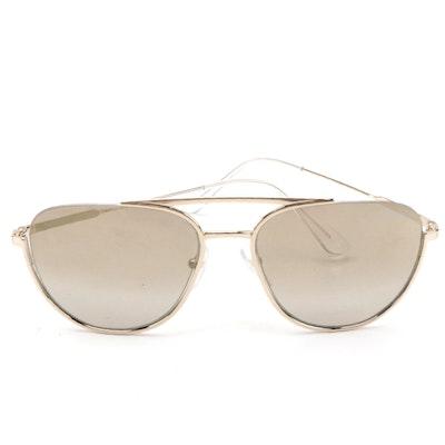 Prada SPR 50U Aviator Sunglasses