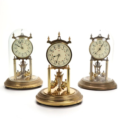 Kundo Brass 400 Day Anniversary Clocks