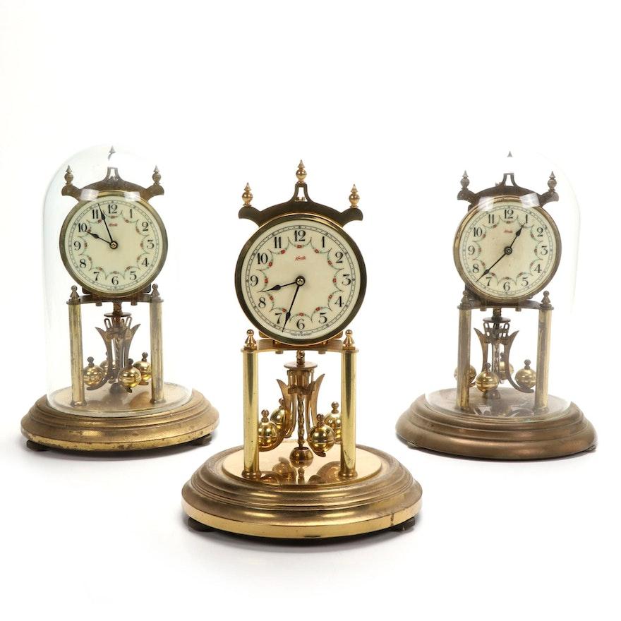 Kundo Brass 400 Day Anniversary Clocks