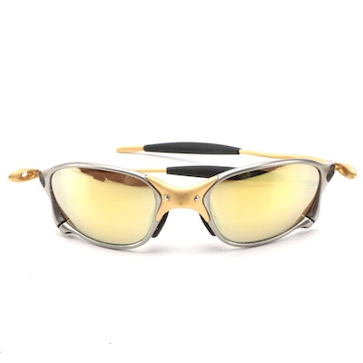 Oakley X-Metal XX 24K Gold Plated Frame with Gold Iridium Lenses
