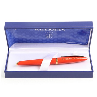 "Waterman ""Carene"" Fountain Pen in Case"