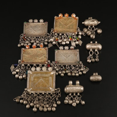 Asian Die-Stamped House Amulets and Ta' wiz Pendants