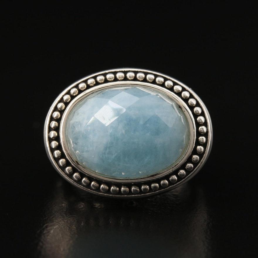 SeidenGang Sterling Silver Beryl Ring