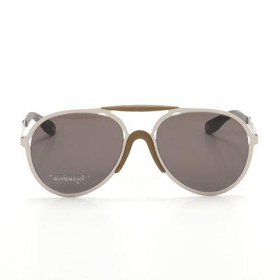 Men's Givenchy Paris GV7039/S Aviator Sunglasses with Case