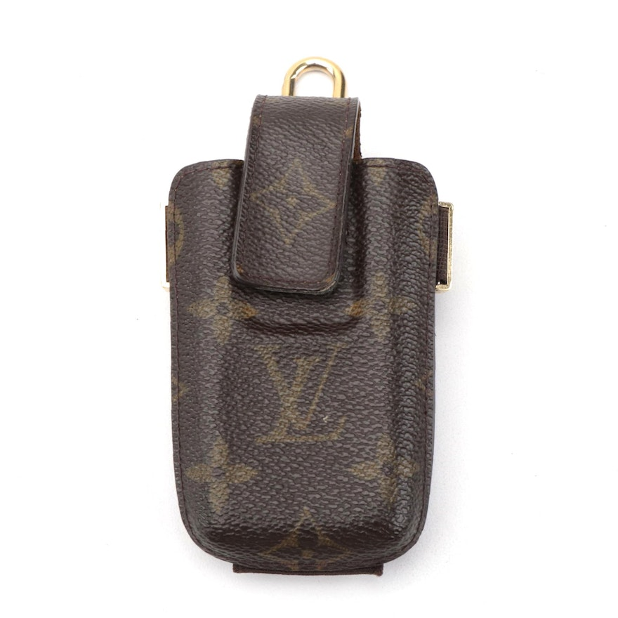 Louis Vuitton Etui Telephone Case in Monogram Canvas