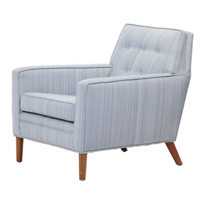 Mid Century Modern Upholstered Lounge Chair