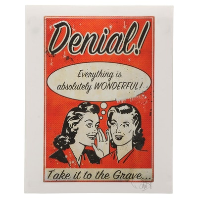 "Denial Giclée ""Secrets,"" 21st Century"