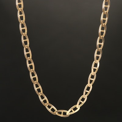 14K Mariner Chain Necklace