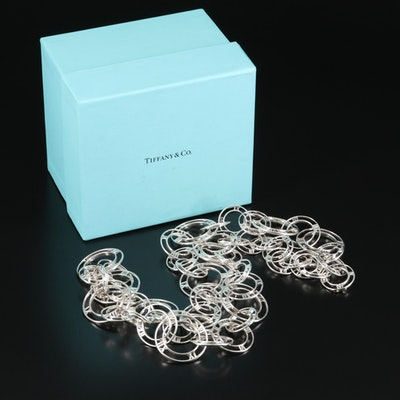 """Tiffany & Co. """"Atlas"""" Link Necklace"""