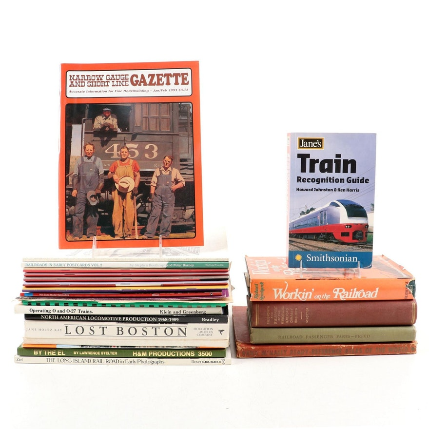 """""""Jane's Train Recognition Guide"""" and Other Railroading Books"""