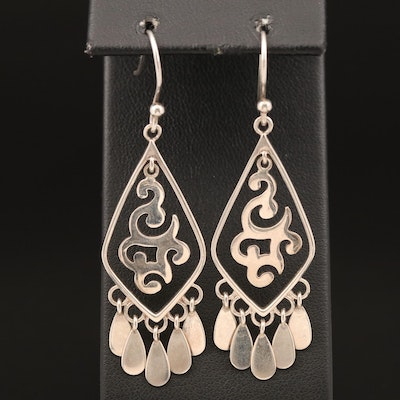 Silpada Sterling Fringe Earrings