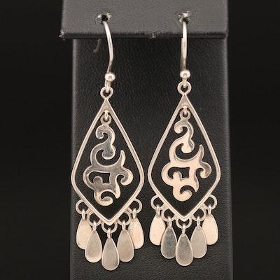 Silpada Sterling Fringe Earrings