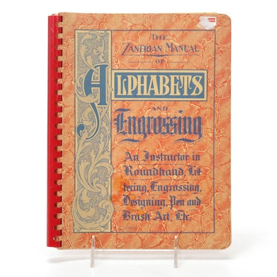 """The Zanerian Manual of Alphabets and Engrossing"" by E. A. Lupfer, 1948"