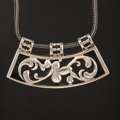 Silpada Sterling Pendant Necklace