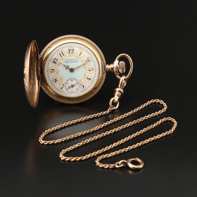 1905 American Waltham Gold Filled Pocket Watch